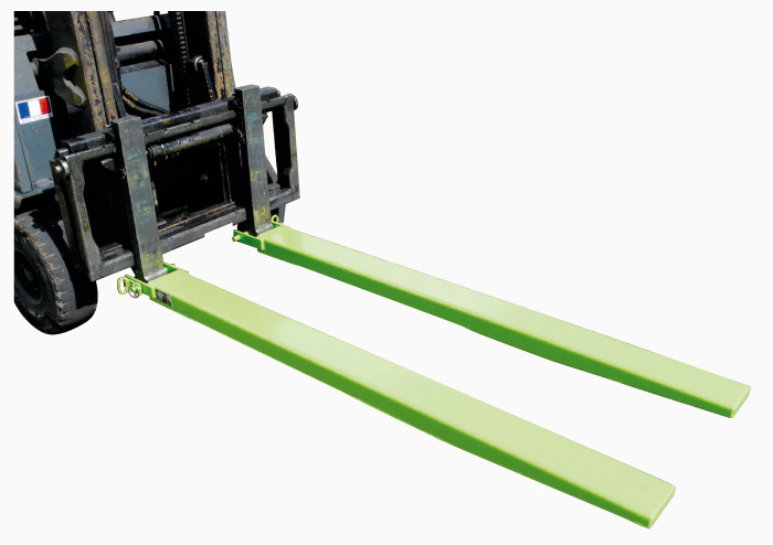 Heavy Duty Fork Lift Extensions : Fork extension sleeves fr